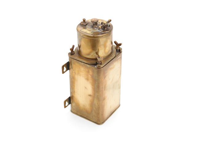A Dietz Type 5 acetylene lamp generator,