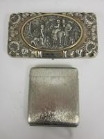 Of Napoleon interest; A German silver circular box by George Roth & Co., Hanau, circa 1900 (5)