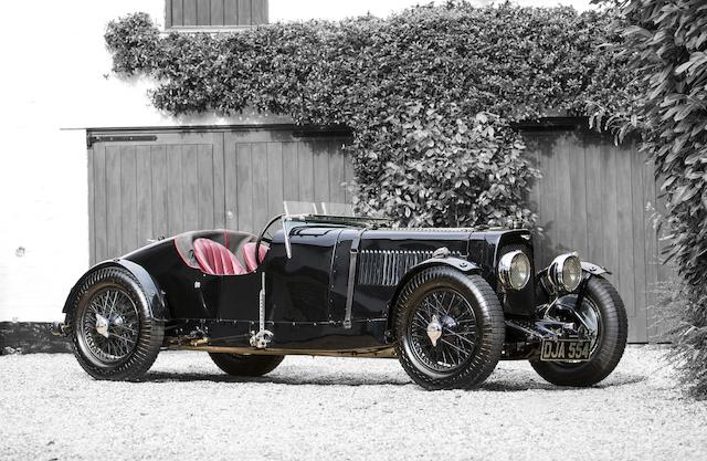 In the present family ownership since 1974 ,1934 Aston Martin Ulster Two-Seater Sports  Chassis no. L4/525/U