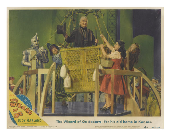 The Wizard Of Oz, M.G.M, 1949 re-release,