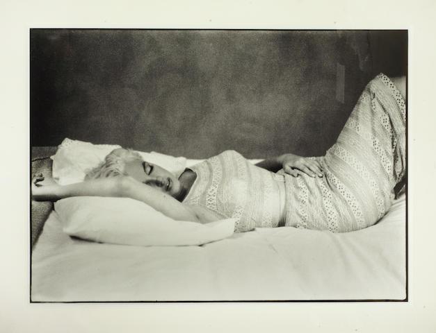 Eve Arnold (American, 1912-2012): Marilyn Monroe, 1955,