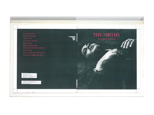 The Smiths: Concept artwork for the album reissue 'The Queen Is Dead', WEA Records, 1993,