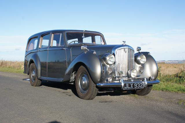 1948 Bentley MkVI 4¼-Litre Estate Chassis no. B41CD Engine no. B195C