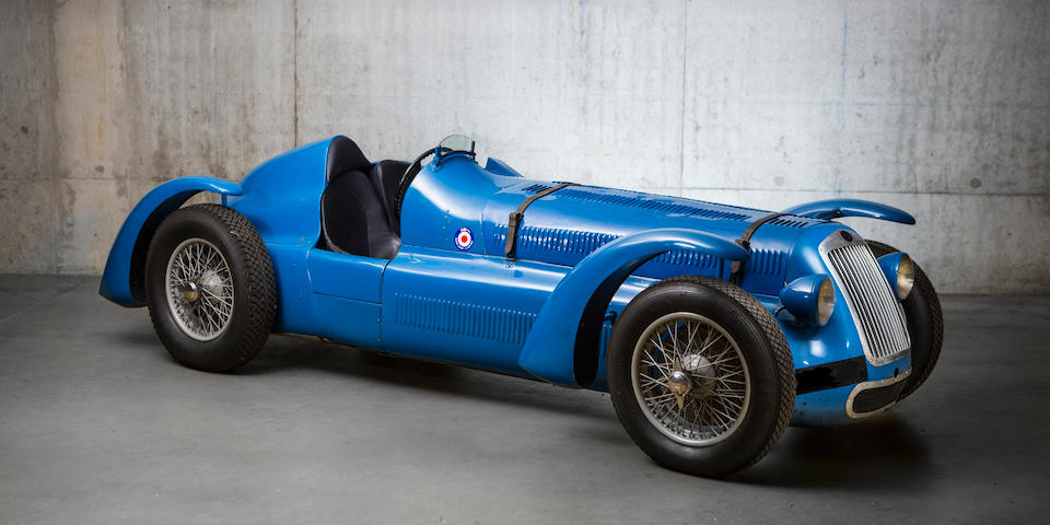 Ex-Phillippe Étancelin, Maurice Trintignant, August Veuillet, Charles Pozzi,1947 Delage D6 3 litres compétition Grand Prix/Sport biplace