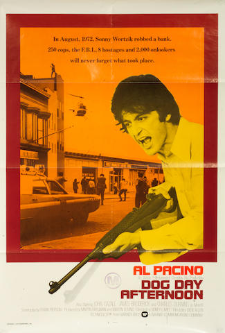 Al Pacino: A collection of five U.S. one-sheet posters, 1970s-1980s, titles including: 5