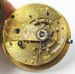 A George IV 18ct gold open face pocket watch