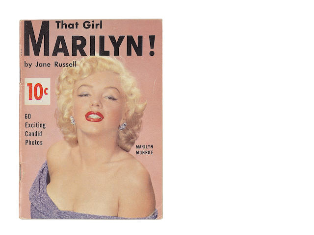 Marilyn Monroe: 'That Girl Marilyn!' booklet, 1950s,
