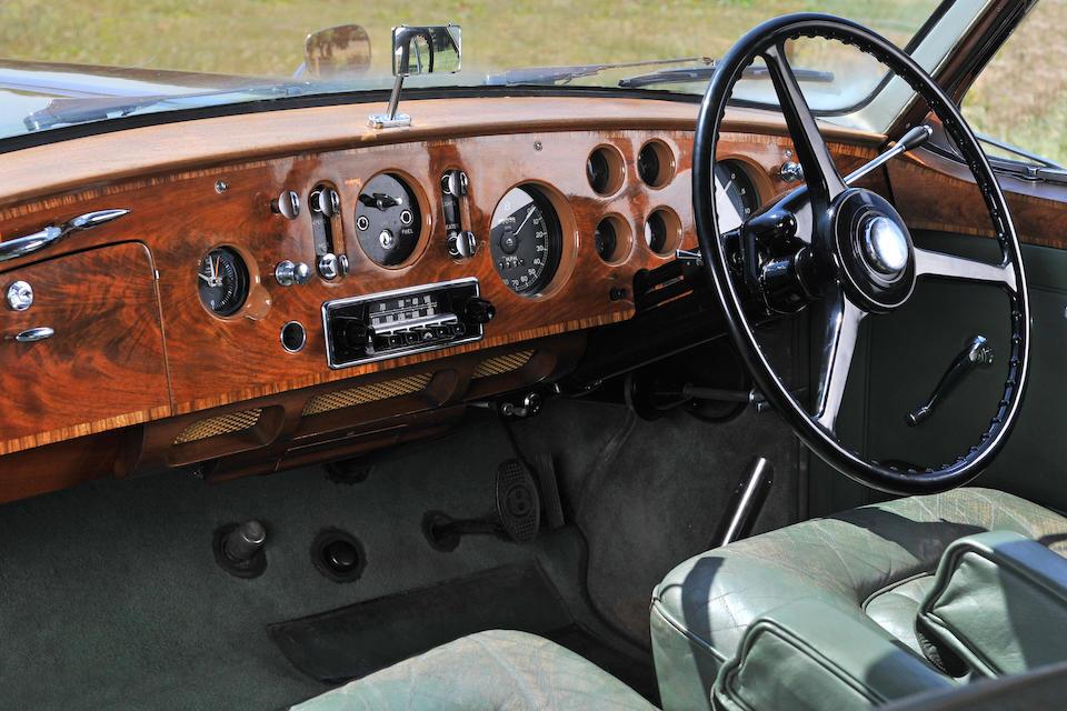 1956 Bentley S-Series Continental Sports Saloon  Chassis no. BC11BG Engine no. BC11B