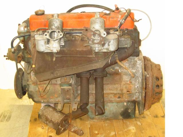 An Austin Healey 3000 Twin Carb engine 1960-61,
