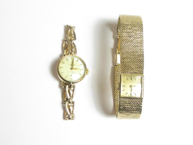 A lady's 'Precision' wristwatch, by Rolex