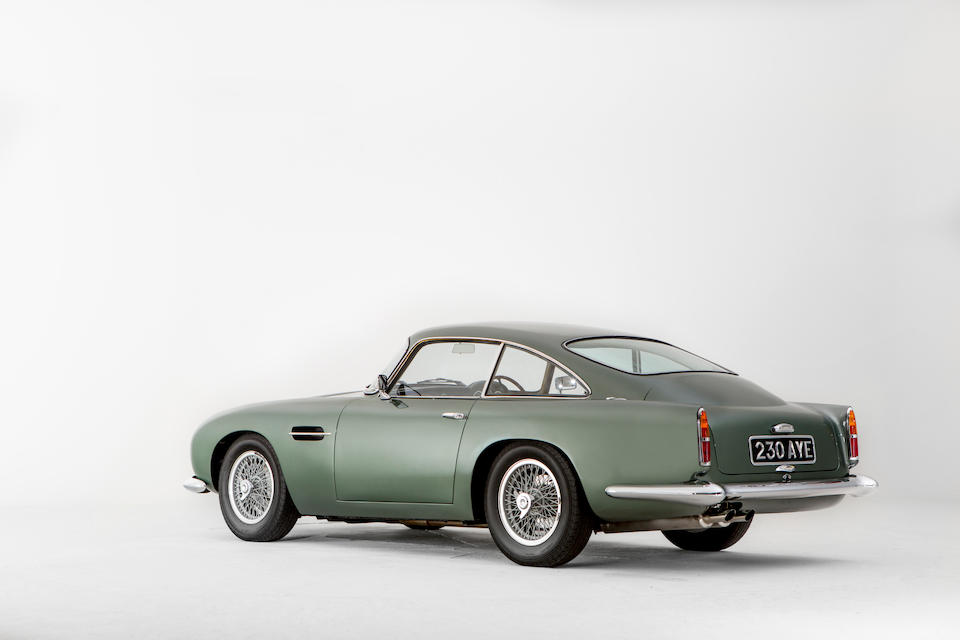 The first production right-hand drive,1959 Aston Martin 4.2-Litre DB4GT Sports Saloon  Chassis no. DB4/GT/0102/R Engine no. 370/0102/GT
