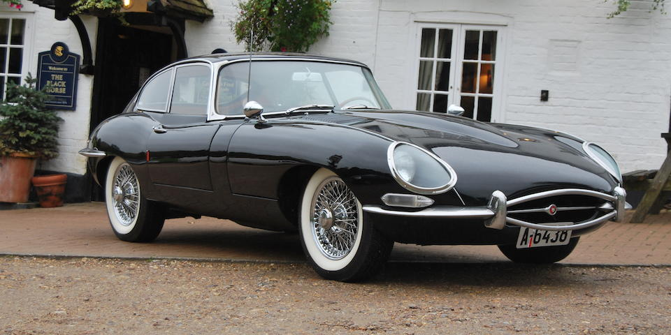 Left-hand drive,c.1964 Jaguar E-Type 3.8-Litre Series 1 Coupé  Chassis no. 889696 Engine no. RA4765-9