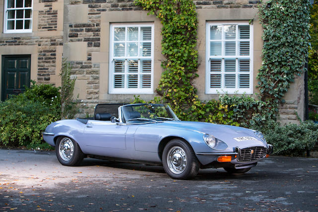 11,533 miles from new,1973 Jaguar E-Type Series III V12 Roadster  Chassis no. 1S1725 Engine no. 7S10199SB
