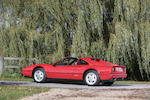 Circa 16,500 miles from new,1988 Ferrari 328GTS Targa Coupé  Chassis no. ZFFWA20C000079995 Engine no. 15934