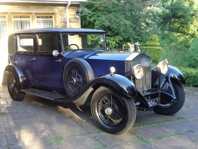 1931 Rolls-Royce 20/25hp Saloon  Chassis no. GFT51 Engine no. X-8-L