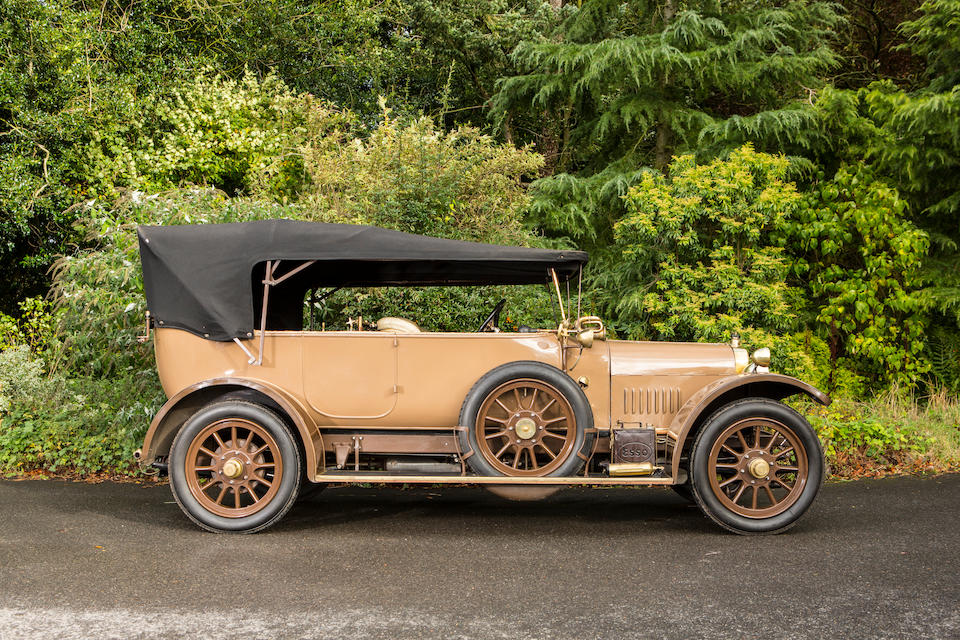 1919 Sunbeam 16hp Tourer  Chassis no. 5030/19 Engine no. 16/E5031/19