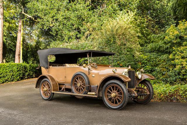 1919 Sunbeam 16hp Tourer  Chassis no. 5030/19 Engine no. 16/E5031/19