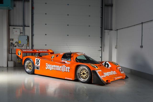 Ex-Brun Motorsport, Oscar Larrauri, Stanley Dickens, Franz Konrad, Uwe Schäfer, Roland Ratzenberger,1989 Porsche 962C Group C Sports Prototype Brun Motorsport