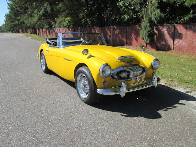 Left-hand drive,1963 Austin-Healey 3000 MkIIA Convertible  Chassis no. HBJ7L 20352 Engine no. to be advised