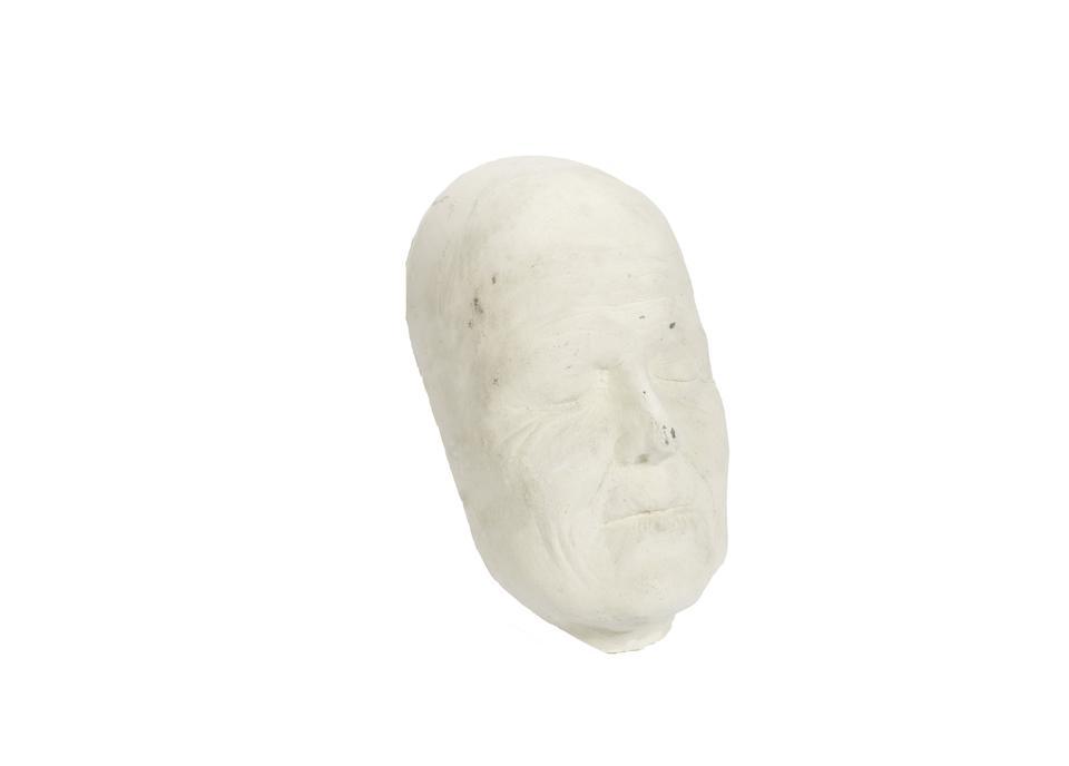 Alien 3 / Sigourney Weaver: A plaster cast 'life mask', 1992, 2