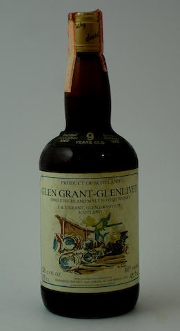 Glen Grant-Glenlivet-9 year old-1969