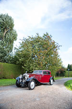 1933 Rolls-Royce Phantom II Continental Sports Saloon  Chassis no. 101MW Engine no. WP25