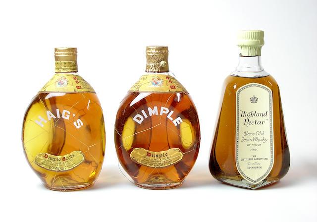 Dimple-Circa 1950's (2) Highland Nectar
