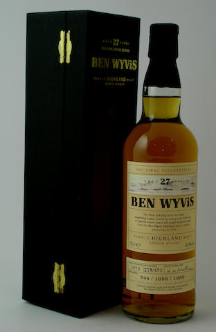 Ben Wyvis-27 year old-1972