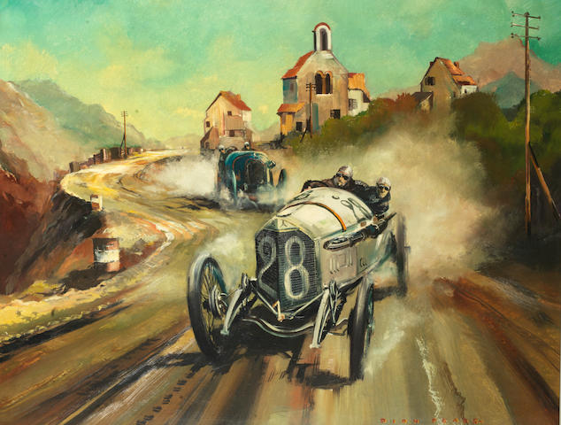 Dion Pears (1929-1985), '1914 French Grand Prix',