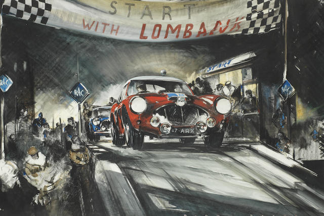 Dion Pears (1929-1985), '1963 RAC International Rally of Great Britain',