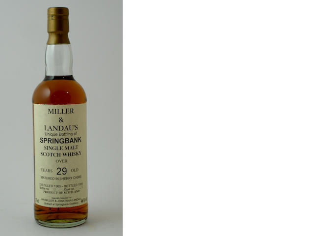 Springbank-29 year old-1965