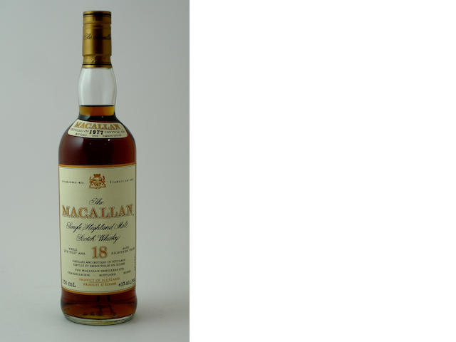 The Macallan-18 year old-1977