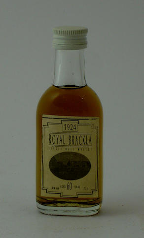 Royal Brackla-60 year old-1924