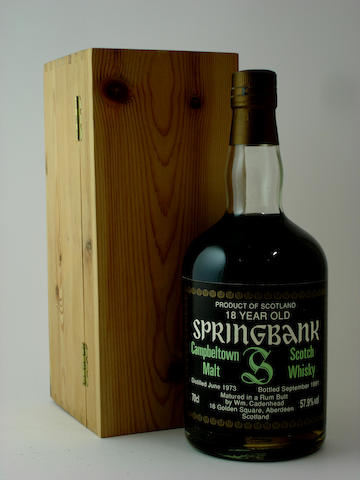 Springbank-18 year old-1973