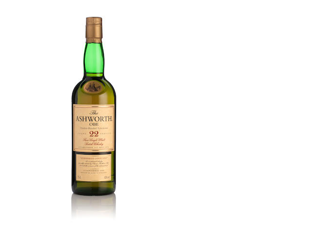 The Ashworth OBE Glenlivet-22 year old