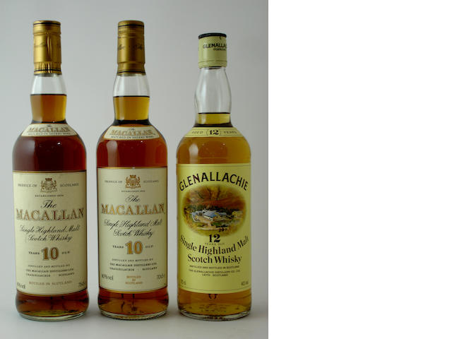Glenallachie-12 year old (2) The Macallan-10 year old (2)