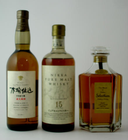 Suntory Pure Malt-1981Nika Pure Malt-15 year oldThe Blend of Nika Selection
