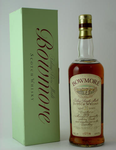 Bowmore-21 year old-1972
