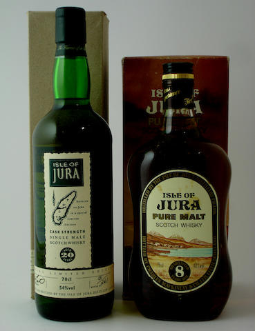 Isle of Jura-20 year oldIsle of Jura-Guaranteed 8 year old