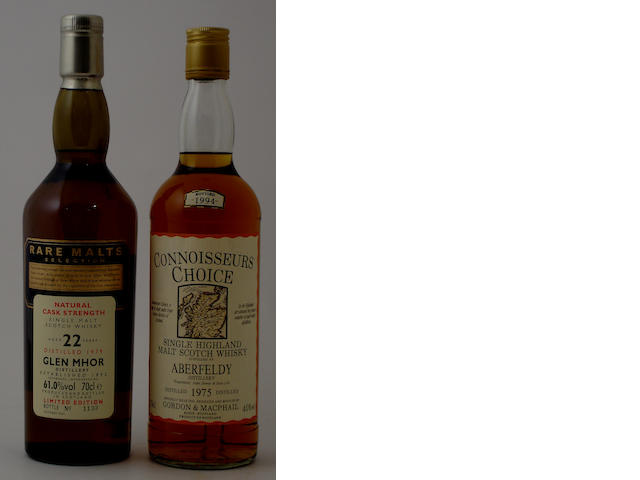 Glen Mhor-22 year old-1979Aberfeldy-1975