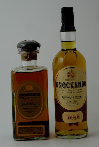 Knockando Extra Old Reserve-21 year old-1965Knockando-1980