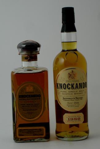 Knockando Extra Old Reserve-21 year old-1965Knockando-1980