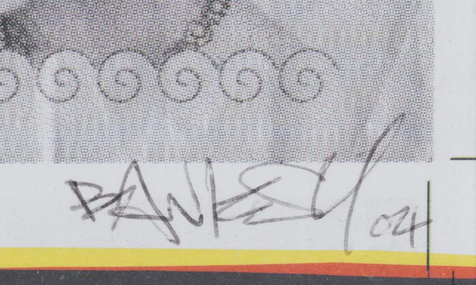 Banksy (b. 1975) Di Faced Tenners  2004