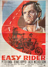An 'Easy Rider' film poster,