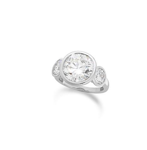 A diamond ring, by David Morris