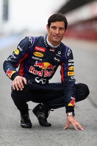 A signed Mark Webber race suit, 2013 Formula 1 season,