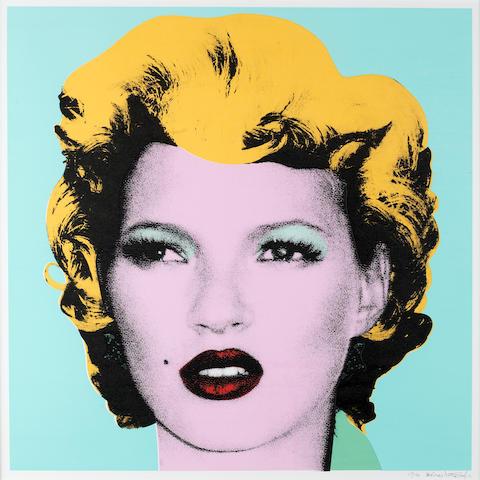 Banksy (b. 1975) Kate Moss 2005