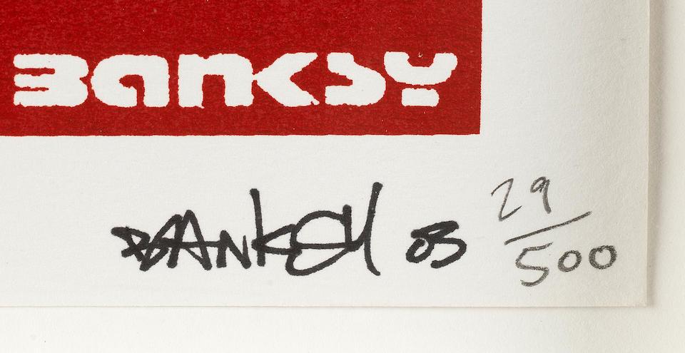 Banksy (b. 1975) Queen Victoria 2003