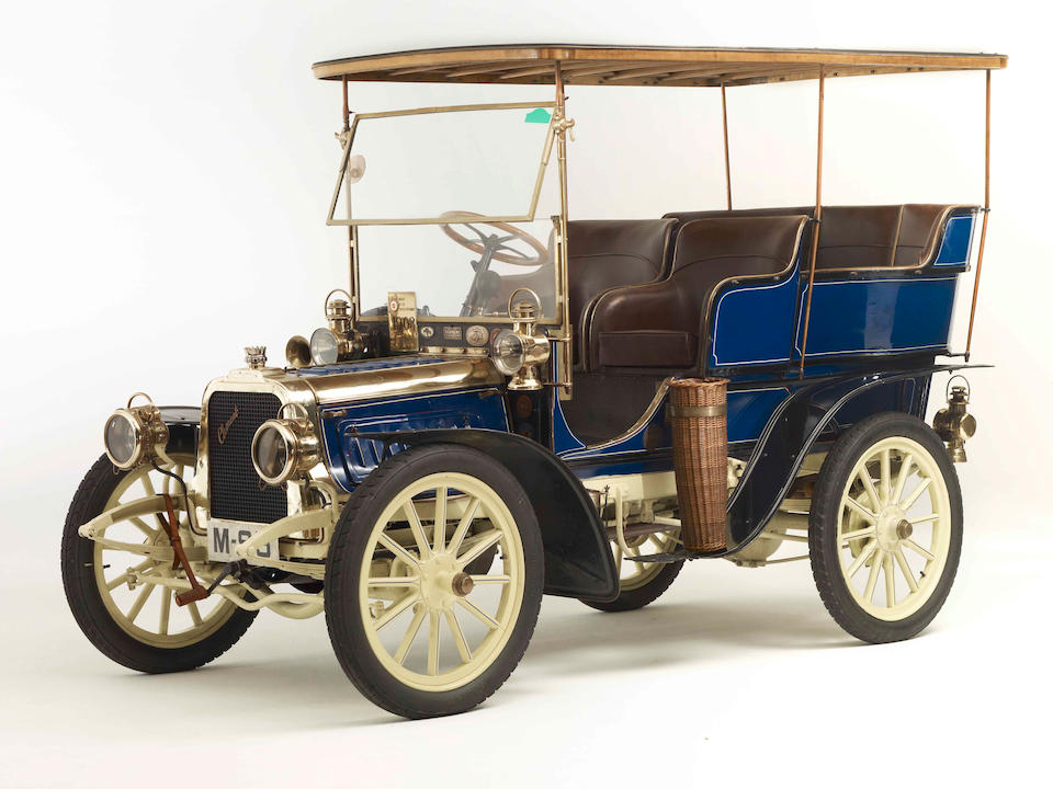 1903 Clément 12/16-hp Rear-Entrance Tonneau  Chassis no. AC4R 4010 Engine no. 166