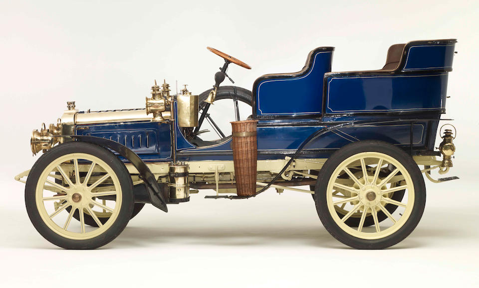 1903 Clément 12/16-hp Rear-Entrance Tonneau  Chassis no. AC4R 4010 Engine no. 166